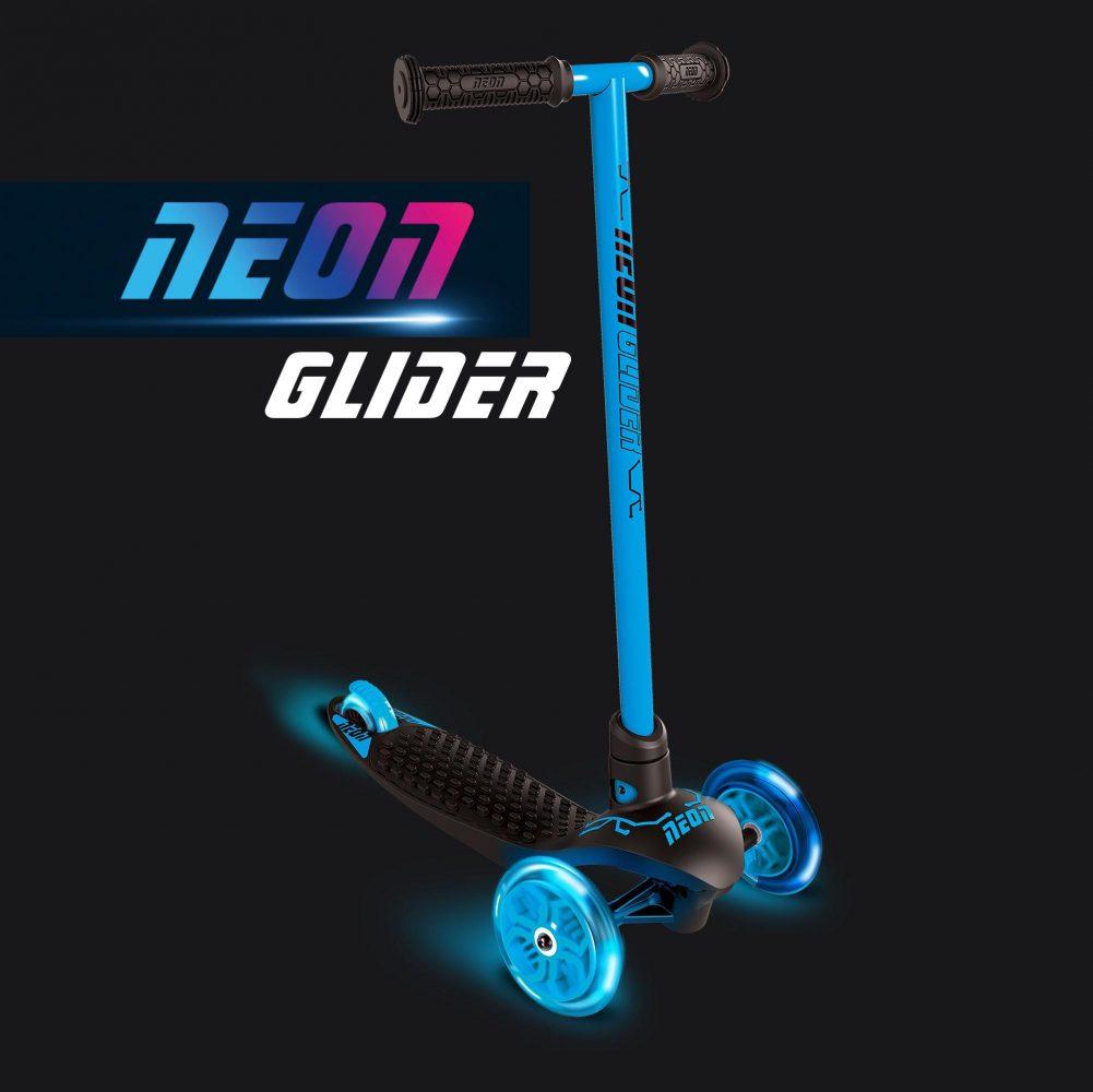 Neon glider Blue