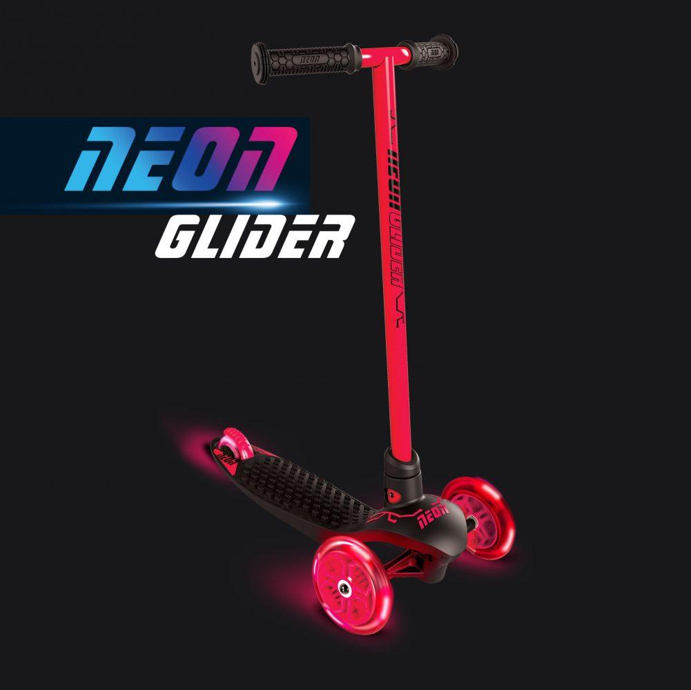 Neon glider air Red