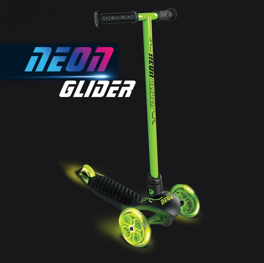 Neon glider green