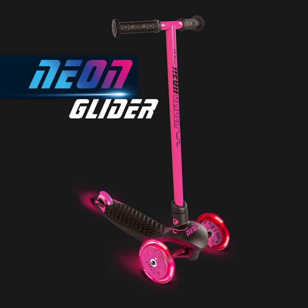 Neon glider pink
